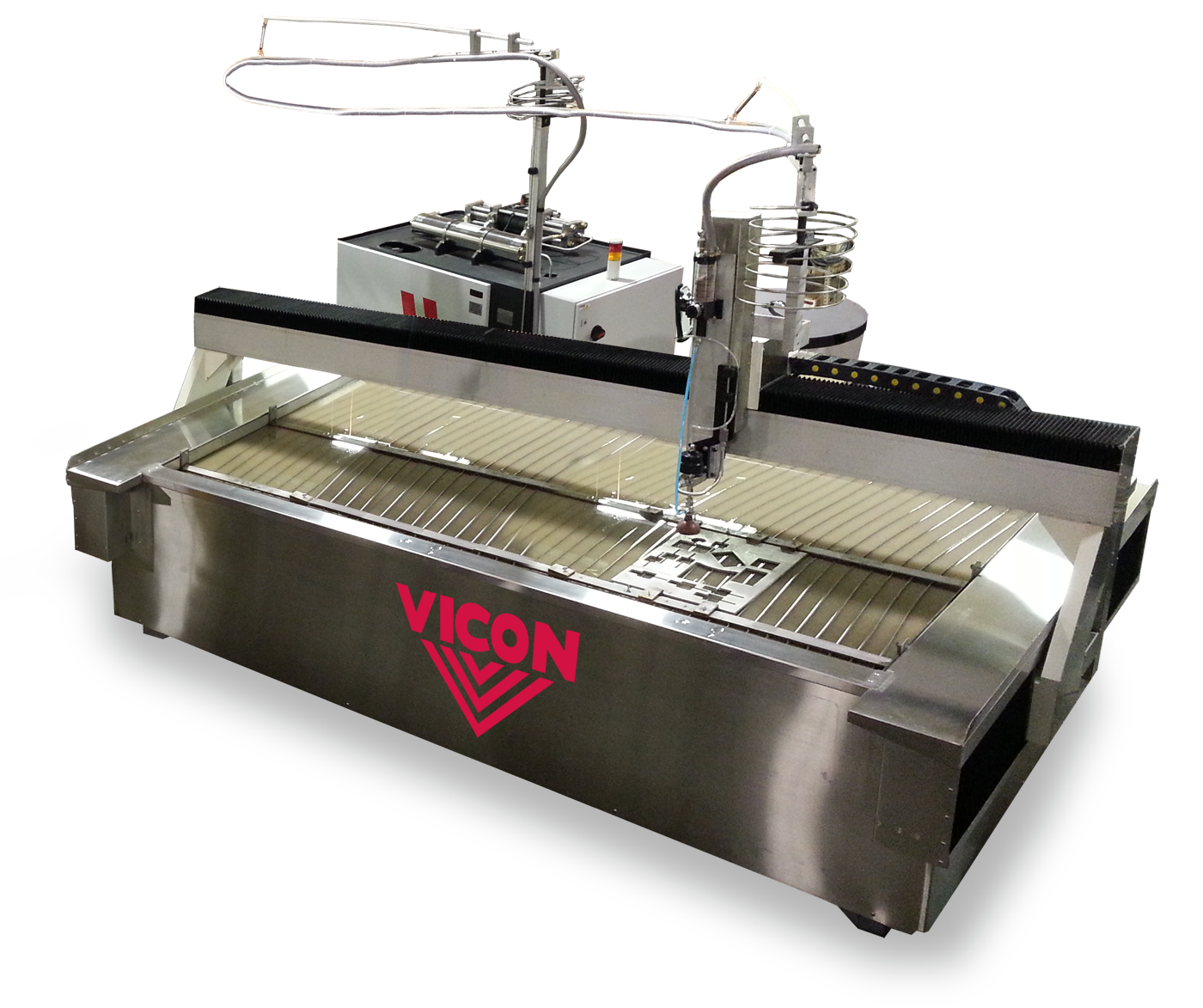 Vicon Abrasive Waterjet Cutting Table