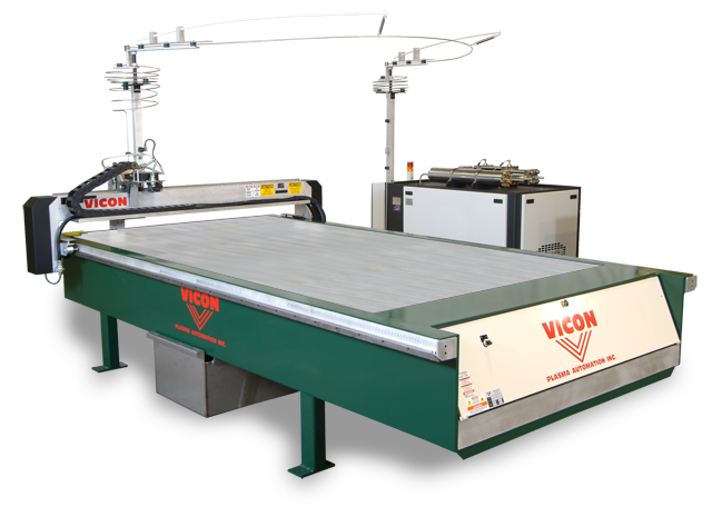 VICON Vi-Stream Waterjet Liner Cutting Table